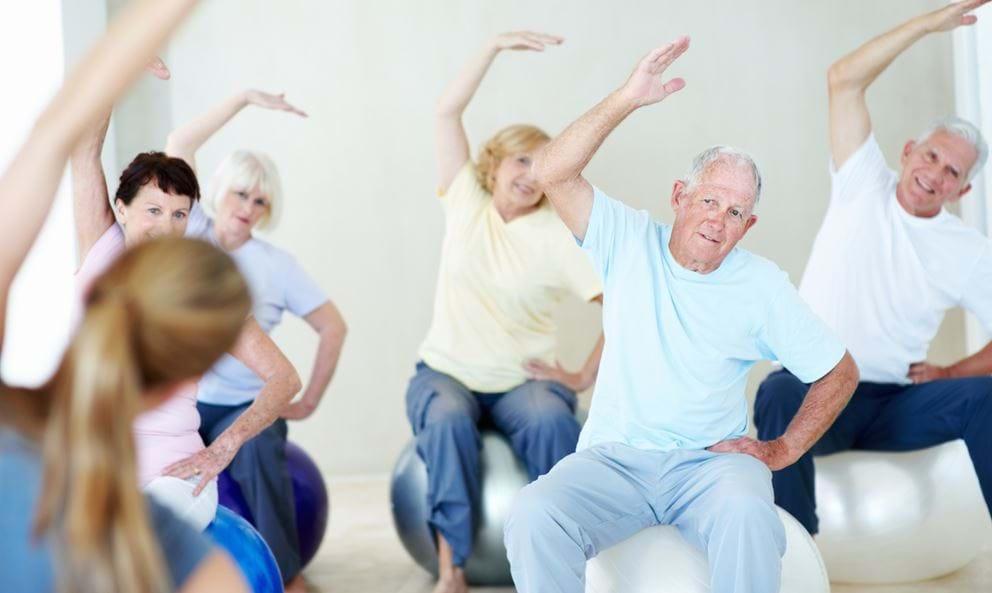 Các bài tập thể dục cho người lớn tuổi